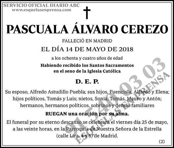Pascuala Álvaro Cerezo